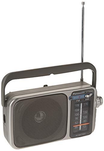 Panasonic RF-2400 AM/FM Radio, Silver