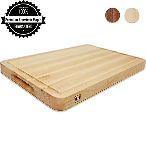 Wood Cutting Board Large Maple 17x11...