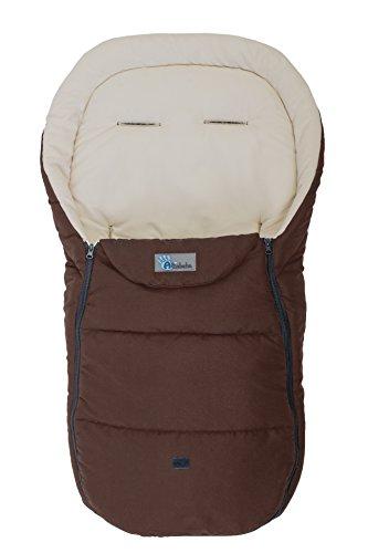 Altabebe AL2450D - 27 Sommerfußsack für Kinderwagen, 12-36 Monate, braun/beige