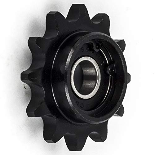 Jeremywell 40I12H-12MM Bore 12 Tooth Idler Sprocket for 40 Roller Chain
