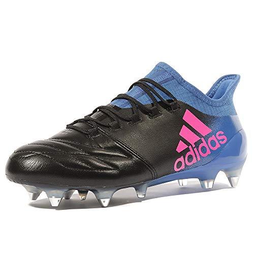 adidas X 16.1 SG Fußballschuhe BB2125 Leder schwarz blau NEU & OVP Gr. 43 1/3