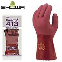 ショーワグローブ/SHOWA/ビニール手袋 ビニローブ413 [10双入]/品番:No.413 サイズ:L