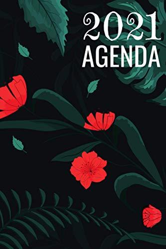 Agenda 2021: Agenda semana vista | una Semana en dos Páginas | Diario Planificador semanal y mensual flores | idea de regalos originales enfermeria colega
