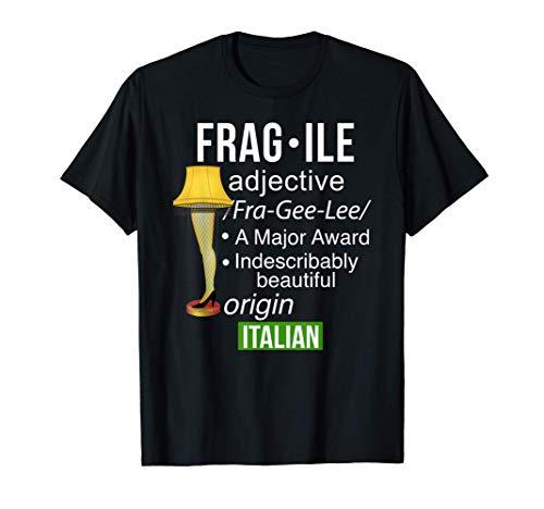 Christmas Leg Lamp Fragile Definition Funny Major Award Tee T-Shirt