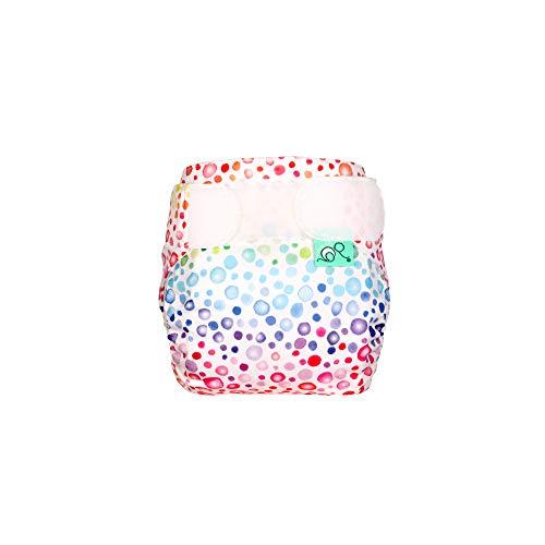 TotsBots TeenyFit Windel für Neugeborene, wiederverwendbar, umweltfreundlich, für Frühchen und kleine Babys, einfach zu waschen und wiederzuverwenden, 5060510764651