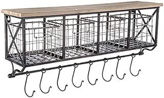 Best metal shelf baskets Reviews