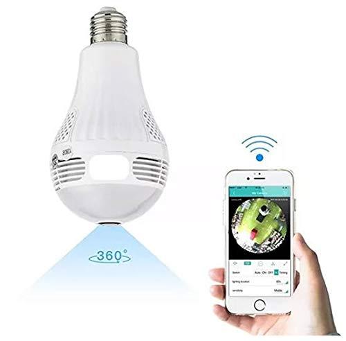 Ventamundi Bombilla lampara Foco espia con WiFi
