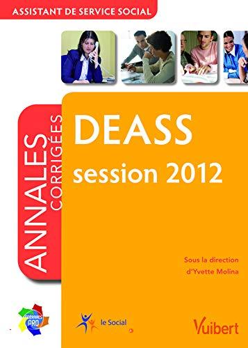 Formtion DEASS - Itinéraires pro - Annales corrigées session 2012