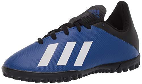 adidas Kids Unisex's X 19.4 Turf Boots Soccer Shoe, Team Royal Blue/FTWR White/core Black, 1 M US