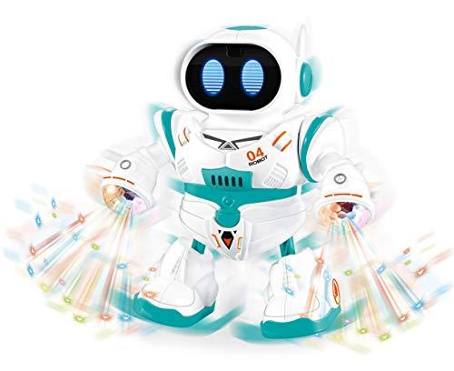 Robô Dançarino de Brinquedo Infantil Max Dance com Luz e Som - Polibrinq, 9030