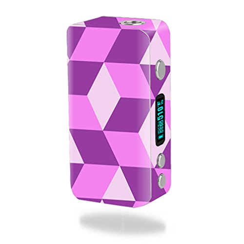 MightySkins Skin Compatible with Smok Koopor Plus 200W – Pink Geo Tile   Protective, Durable, and Unique Vinyl Decal wrap Cover   Easy to Apply, Remove, and Change Styles   Made in The USA