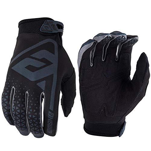 Huore Alle Fahrrad-Motocross-Handschuhe Beziehen Sich Auf Outdoor-Radsporthandschuhe, Schwarz, XL