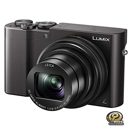 PANASONIC LUMIX ZS100 4K Digital Camera, 20.1 Megapixel 1-Inch Sensor 30p Video...