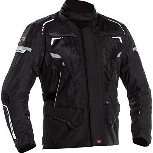 Richa Motorradjacke mit Protektoren Motorrad Jacke Infinity 2 Mesh Textiljacke schwarz M, Herren, Tourer, Ganzjährig