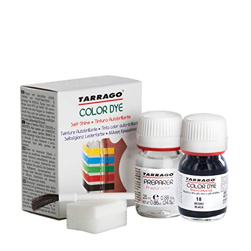 Tarrago Self Shine Color Dye and Preparer 25ml. 18 - Black