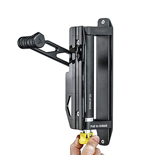 HUWENJUN123 Swivel Bike Wall Hanger, Vertical Indoor Storage Mount for 1 Bicycle in Garage or Home, Space Saver Holder Hook for Bicycles