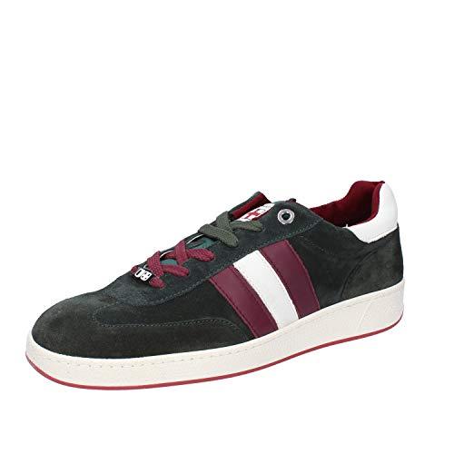 D'Acquasparta Sneaker Uomo Pelle Scamosciata Verde 39 EU