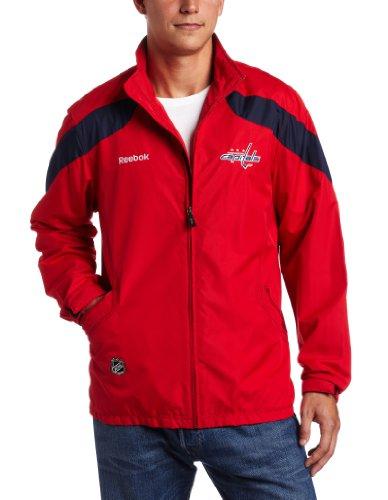 Reebok NHL Herren Jacke Washington, Capitals Center Ice, Herren, rot, Small