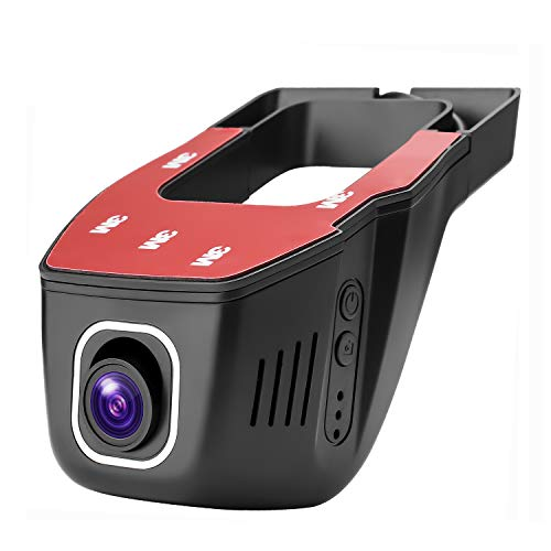 ZJAXING FHD 1080P Dash Cam WiFi Camera Mini Hidden Dashboard for Cars Driving Recorder DVR with Night Vision, G-Sensor, Parking Mode, WDR,Novatek 96658 Sony IMX323
