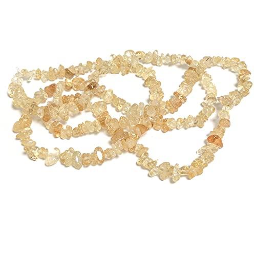 Charming Beads Citrino Perline d'oro Chips 5mm-8mm Lungo Fili di 240+