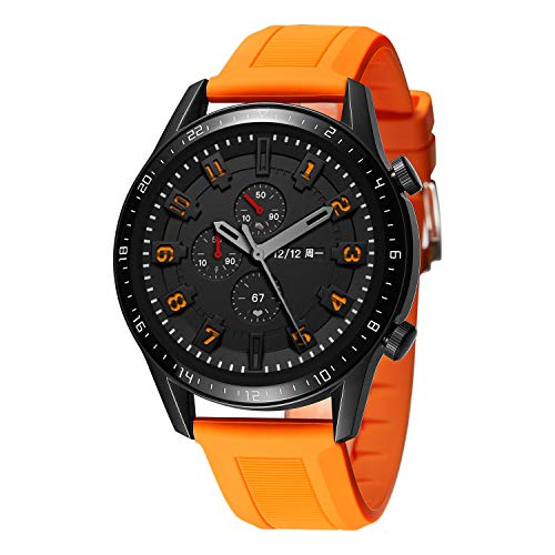 BINLUN Bandas de Reloj compatibles con Huawei GT   GT2 42mm 46mm   Huawei Watch 2 Classic Sport Smartwatch Banda de Goma de Silicona Reemplazo Suave 20mm 22mm Pulsera para Hombres