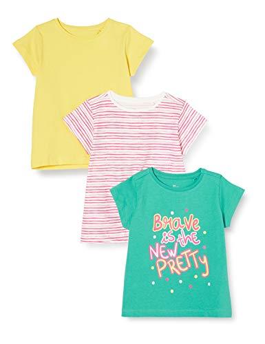 ZIPPY Pack de 3 Camisetas para niña SS20, Lagoon 16/5418 TC