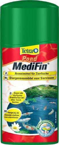 500ML Tetra Pond Medifin, per tutti i pesci di stagno