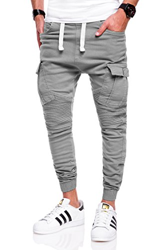 behype. Herren Jogg-Jeans Chino Jeans-Hose 80-2276 Hellgrau 32