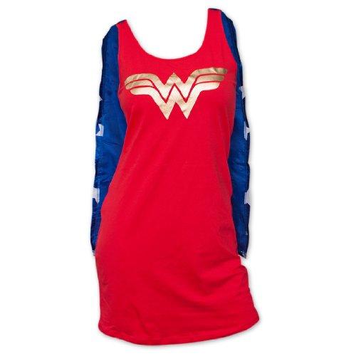 DC Heroes Wonder Woman Sleep Tank With Gorrae | S