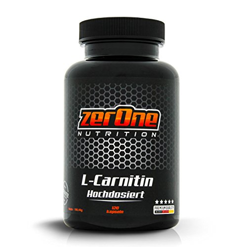 ZerOne Nutrition Premium L-Carnitin zur Gewichtsreduzierung und Fettverbrennung