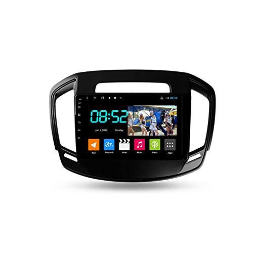Foof Autoradio 2 DIN Android Bluetooth Radio De Coche 9'' Pantalla Táctil WiFi Plug and Play Completo RCA SWC Soporte Carautoplay/GPS/Dab+/OBDII para Opel Insignia 2013-2017,Octa Core,4G WiFi 2G+32G
