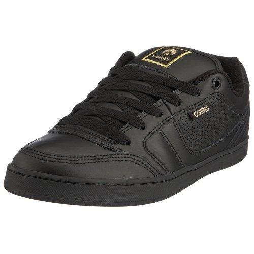 Osiris Herren M3 Sneaker, Schwarz - Schwarz Schwarz Gold - Größe: 40 2/3 EU
