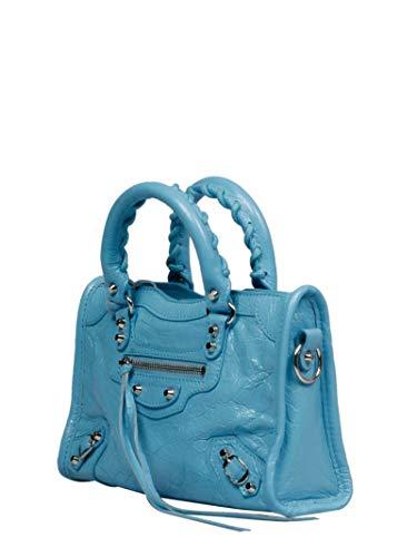 Luxury Fashion | Balenciaga Womens 505555DB5XN4860 Light Blue Handbag | Fall Winter 19