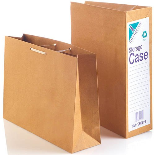 Foolscap Manilla Paper Document Filing Paper Work Office Archive Storage Cases