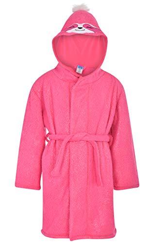 Sleep On It Bata de forro polar para niñas   Bata de niños para niñas, Rosa V2, 7-8