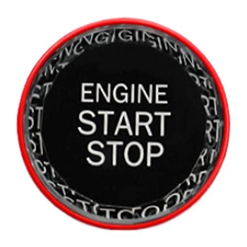 CHENGQIAN Botón Arranque con Un Botón, Botón De Arranque con Una Llave del Motor del Coche, Botón De Arranque/Parada, para Lexus Is250 GS Nx Rx350 Ex350 Lx57 Is250