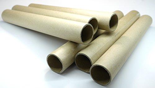 30,5 mm Papphülsen, cardbord, paper tubes, parallelgewickelt, 30,5 x 34,5 x 270mm, verschiedene Mengen lieferbar (10)