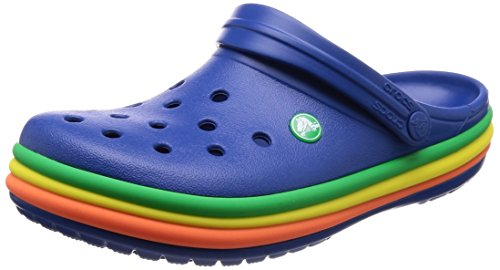 CROCS - Clogs Crocband Rainbow Band - Blue Jeans