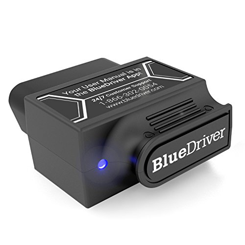 BlueDriver Bluetooth Pro OBDII Scan Tool for iPhone & Android -  Lemur Vehicle Monitors, LSB2