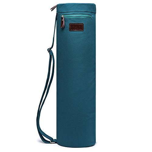 Boence Yoga Mat Bag, Full Zip Exercise Yoga Mat Sling Bag with Sturdy Canvas, Smooth Zippers,...