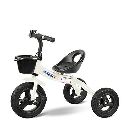 GIFT Triciclo De Niños 3 Ruedas De La Bicicleta De Equilibrio para Niños Bicicleta Andador De Bebé IR Carros para Caminar Tren Scooter para Niños Juguetes 1.5-5 Años De Edad,A