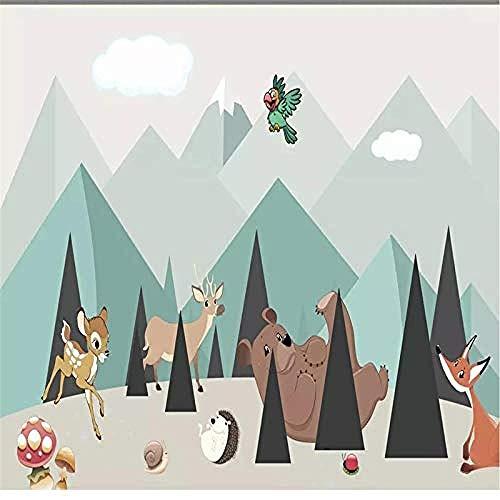 Spezialisiert auf die Herstellung von Tapeten Wandbilder Wohnzimmer Fernseher Schlafzimmer Hintergrund Familie Zeichnung Kunst Kind fototapete 3d Tapete effekt Vlies wandbild Schlafzimmer-200cm×140cm