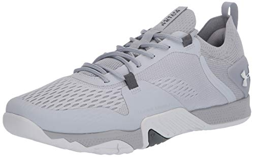Under Armour womens Tribase Reign 2 Cross Trainer, Halo Gray (102 Metallic Silver, 7.5 US