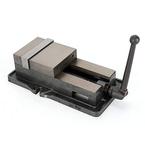 OUKANING - Tornillo de banco Vise 1/2 LB de alta precisión, 6 pulgadas, cuerpo de hierro fundido fijo