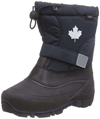 Canadians Jungen Unisex-Kinder 467 185 Schneestiefel, Blau (Navy 838), 33 EU