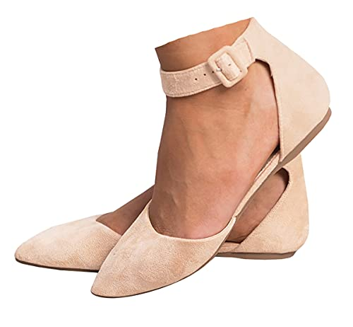 Top 10 best selling list for flat closed toe shoes with ankle strap