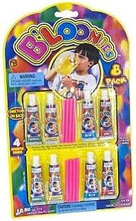 Bloonies Blow Plastic Bubbles 8 Pack-Seasonal Toys