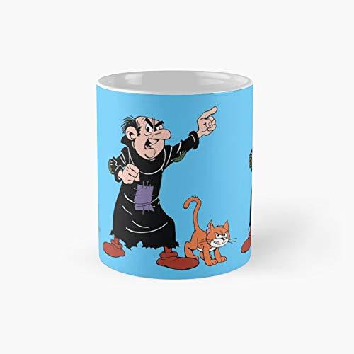 Gargamel and Azrael Classic Mug | Mejor regalo divertido tazas de café 11 oz