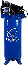 Quincy Single-Stage Air Compressor - 3.5 HP, 220 Volt, 60-Gallon Vertical Tank, Model Number Q13160VQ