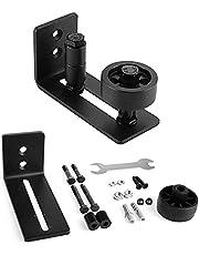 Verstelbare rolgeleiding, hangrail schuifdeursysteem accessoires, looprails voor schuifdeur, 8 mogelijke varianten voor alle staldeuren, perfect geschikt voor alle schuifdeuren